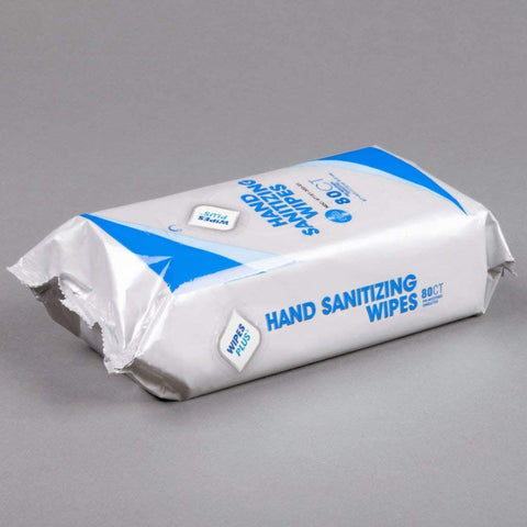 SANITIZER/ Wipes Plus Hand Sanitizing Wipes, pack of 80