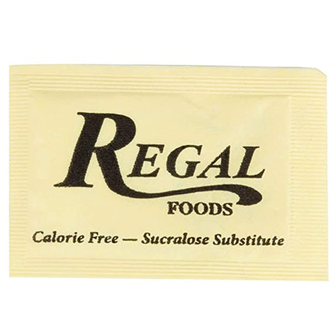 COFFEE CONDIMENT/ Sweetener/ Splenda Substitute Packet, 2000 per case