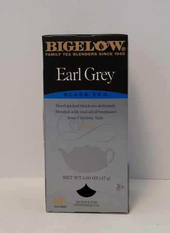 TEA/ Bigelow/ Earl Grey Bags, 28 count