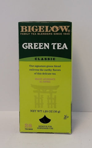 TEA/ Bigelow/ Green Tea, 28 count