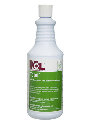 "BOWL/ ""TOTAL"" Non-Acid Bowl and Bathroom Cleaner"