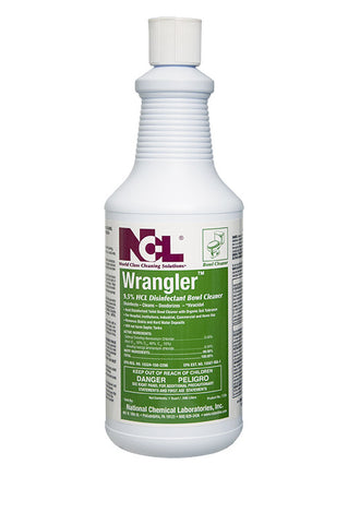 "BOWL/ ""WRANGLER"" Mild Acid Disinfectant Bowl Cleaner"