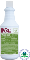 "BOWL/ ""WRANGLER"" Mild Acid Disinfectant Bowl Cleaner, Quart"