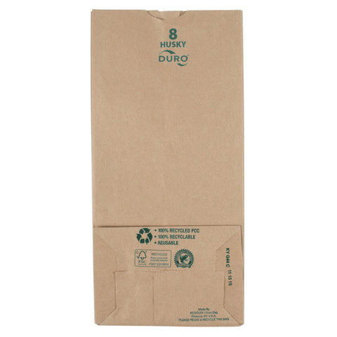BAG/ Kraft/ #8 Husky, 400/cs, Item# 70208