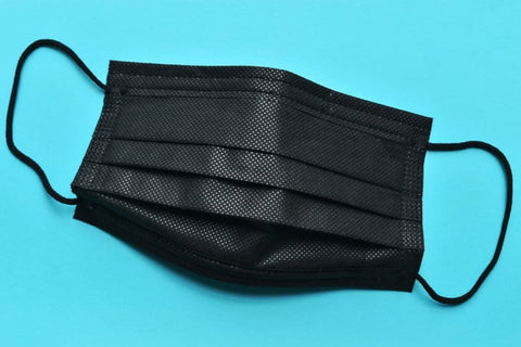 SAFETY/ Surgical BLACK 3 ply Face Mask/ IN STOCK