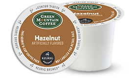 K-CUP/ Flavored/ Hazelnut