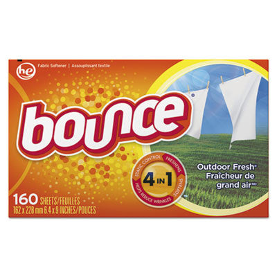 "LAUNDRY/ Softener/ ""Bounce"" Dryer Sheets/Case"