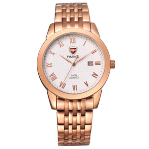 Paragi Man Watch Item 00401 Rose Gold