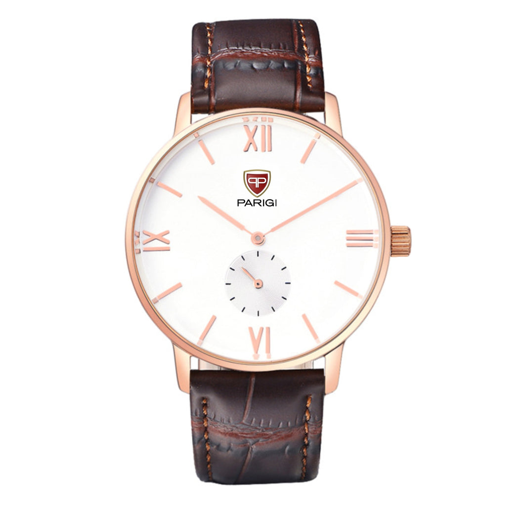 Parigi Man Watch Item 01701 Rose Gold
