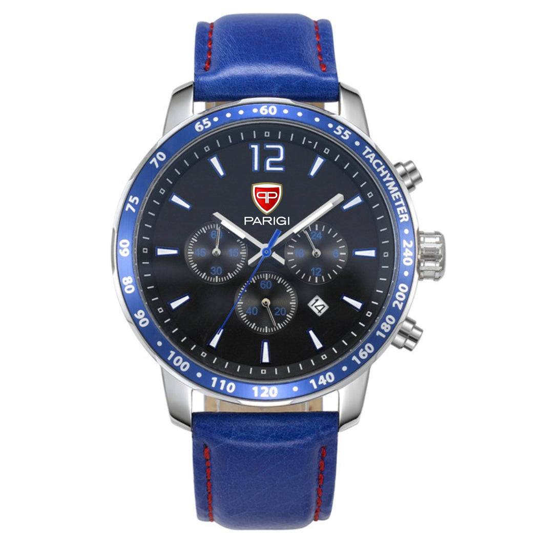 Paragi Man Watch Item 50101 Blue
