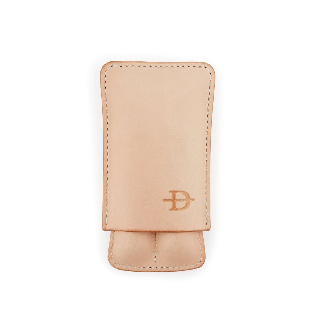 Handmade Two-Finger Leather Case - Daneson EU
