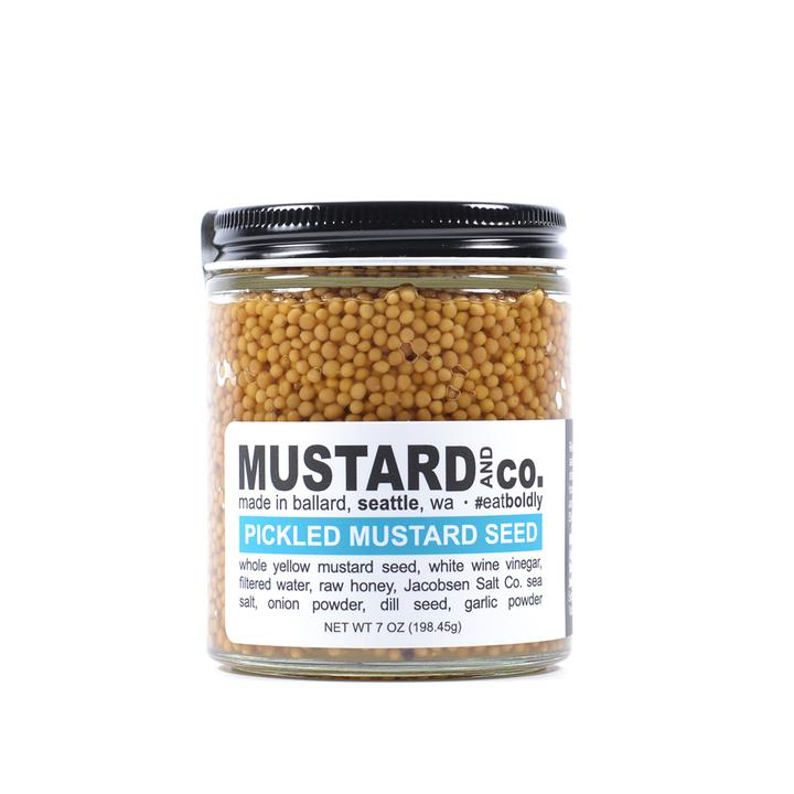 Pickled Mustard Seed