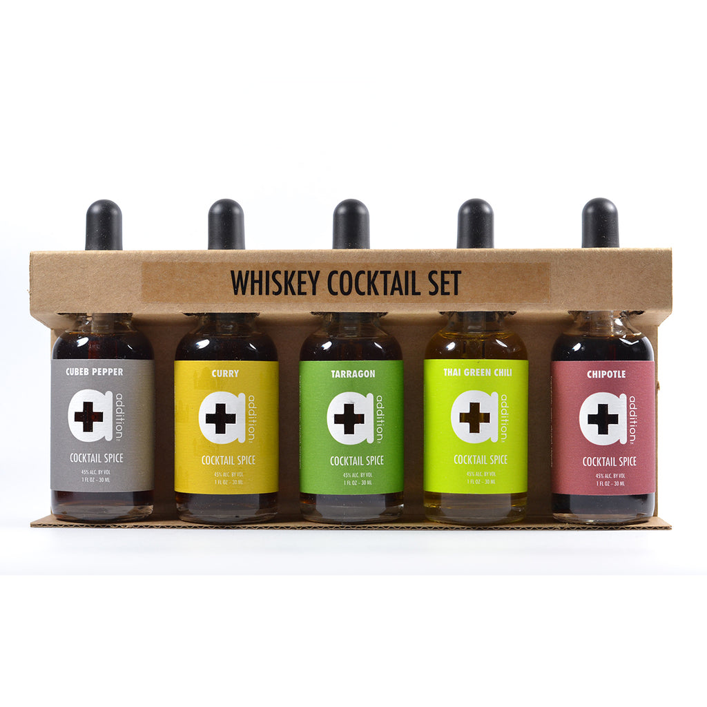 Whiskey Cocktail Spices Gift Set