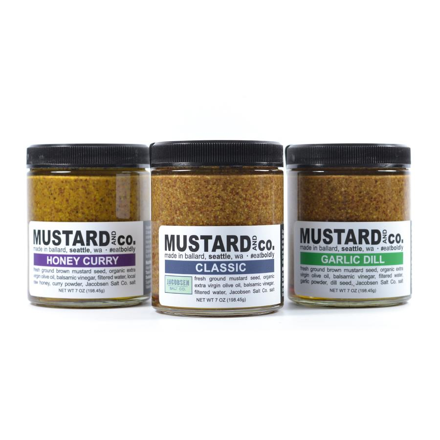 Mustard and Co. Original Trio Gift Set