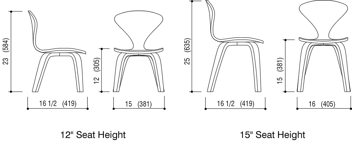 Children's Chair Schematic