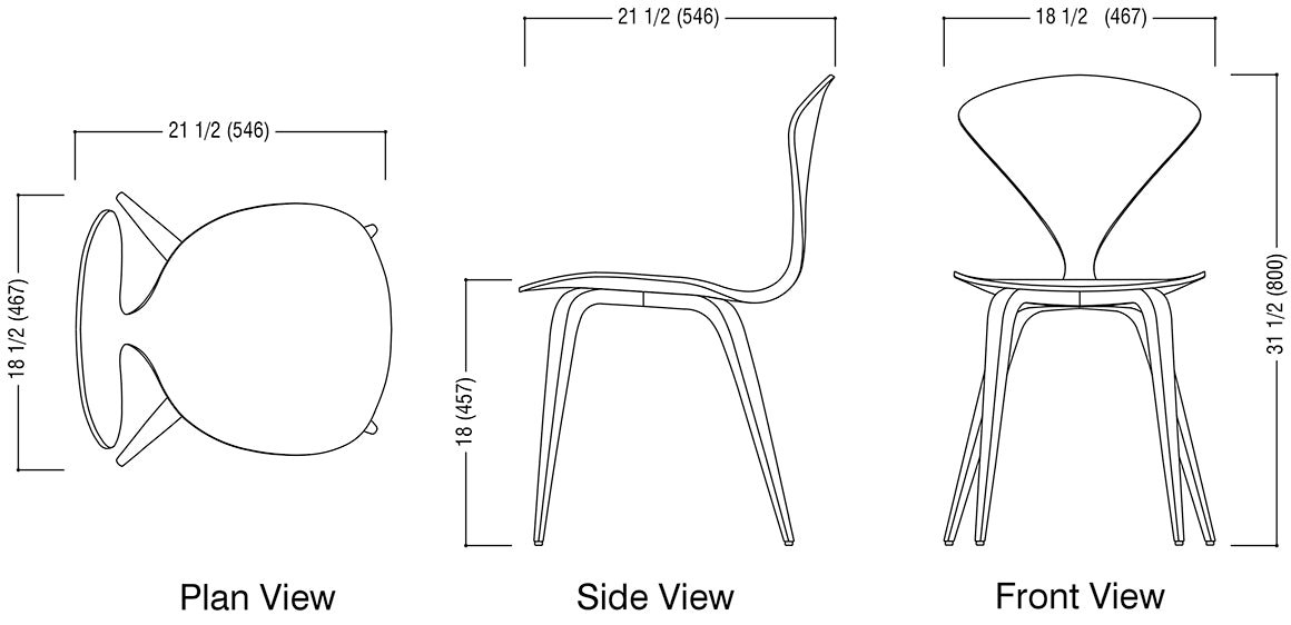 Side Chair Schematic
