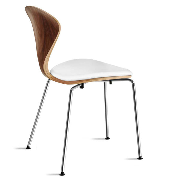 Metal Base Side Chair – with seat pad only