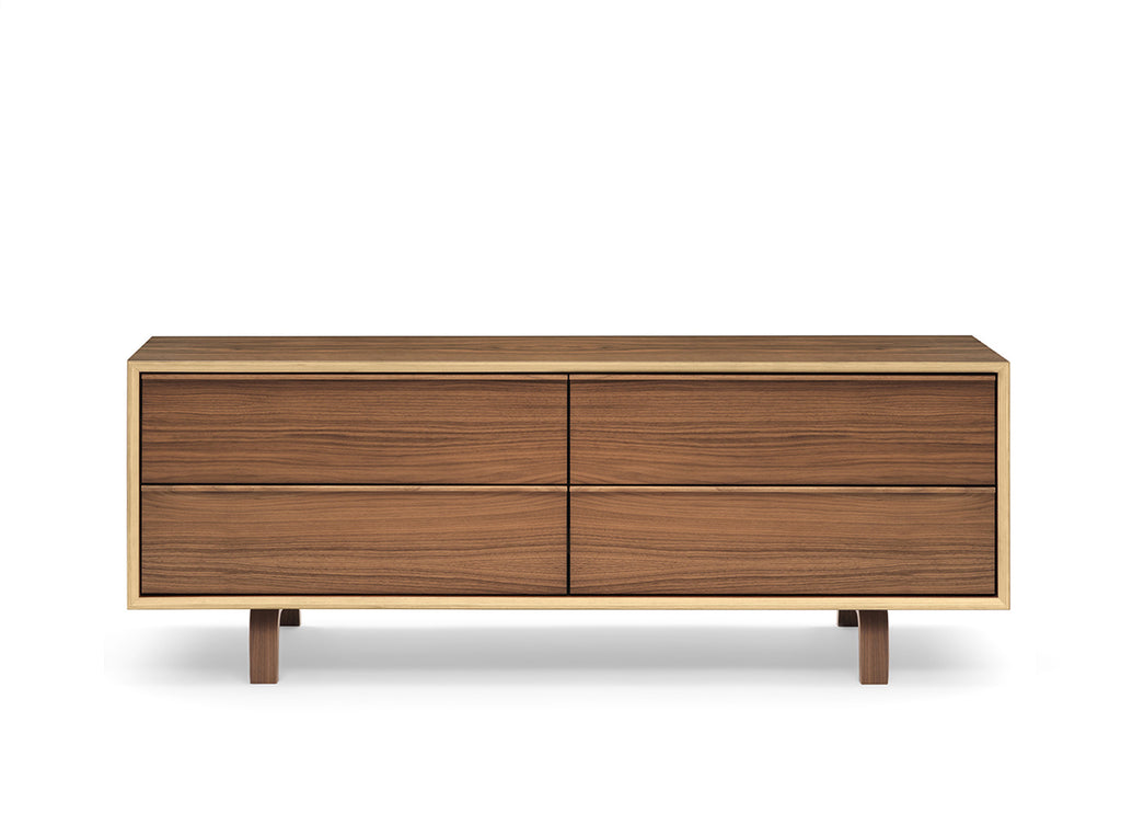 Four Drawer Credenza