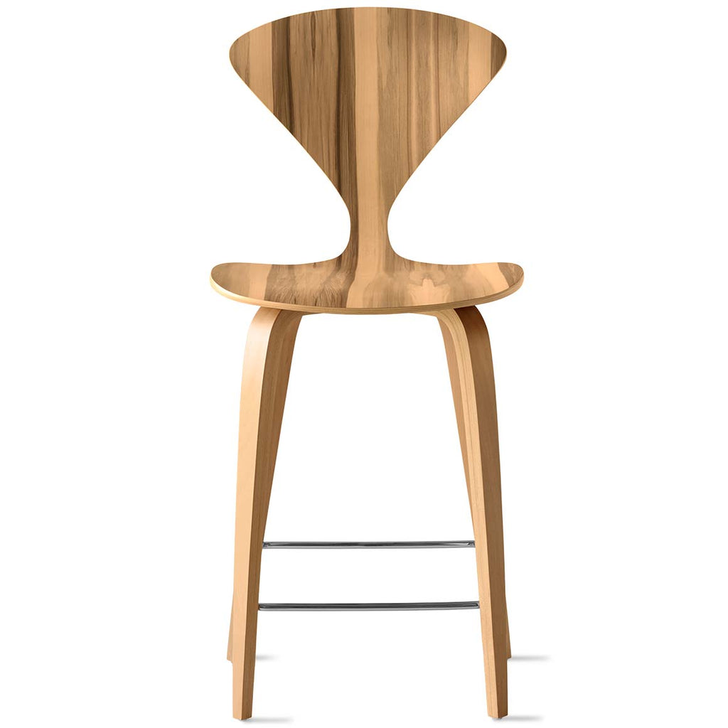 Wood Base Stool - no upholstery pads