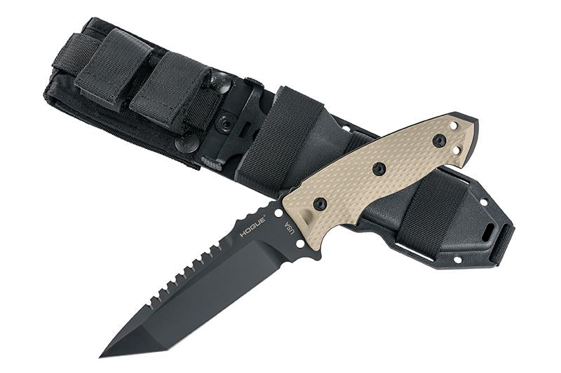 "EX-F01 5.5"" Fixed Blade A-2 Black Finish"