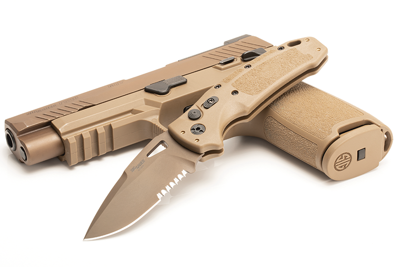 "Sig K320A M17 3.5"" Automatic Folder - Exclusive to Fort Rock Tactical"