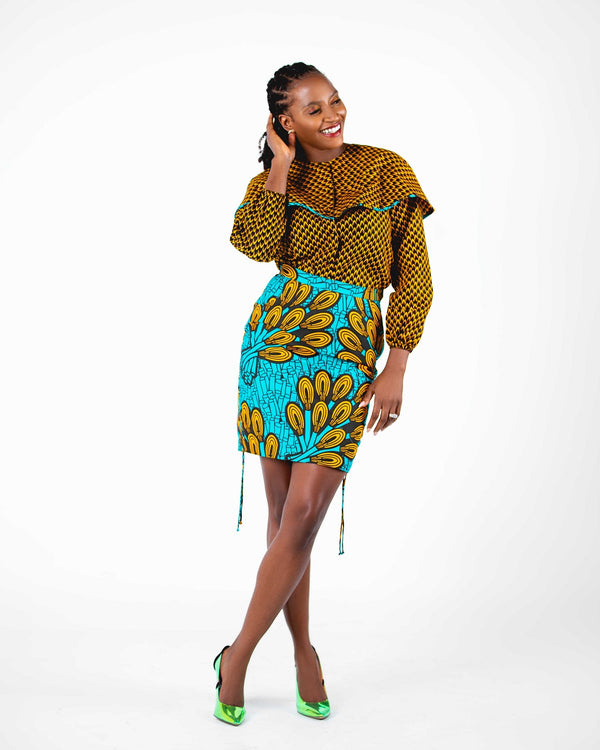 Oladoja Ankara Mixed Print Set