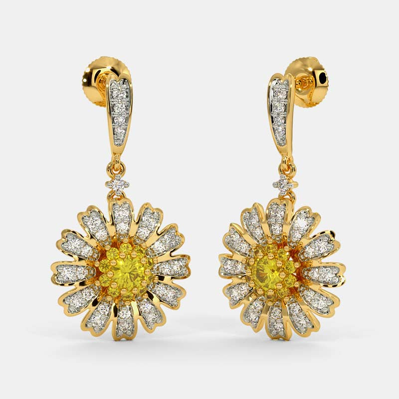 The Daisy Drop Earrings