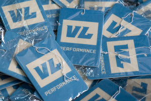 New Car Smell VL Performance Logo Air Freshener (Blue)