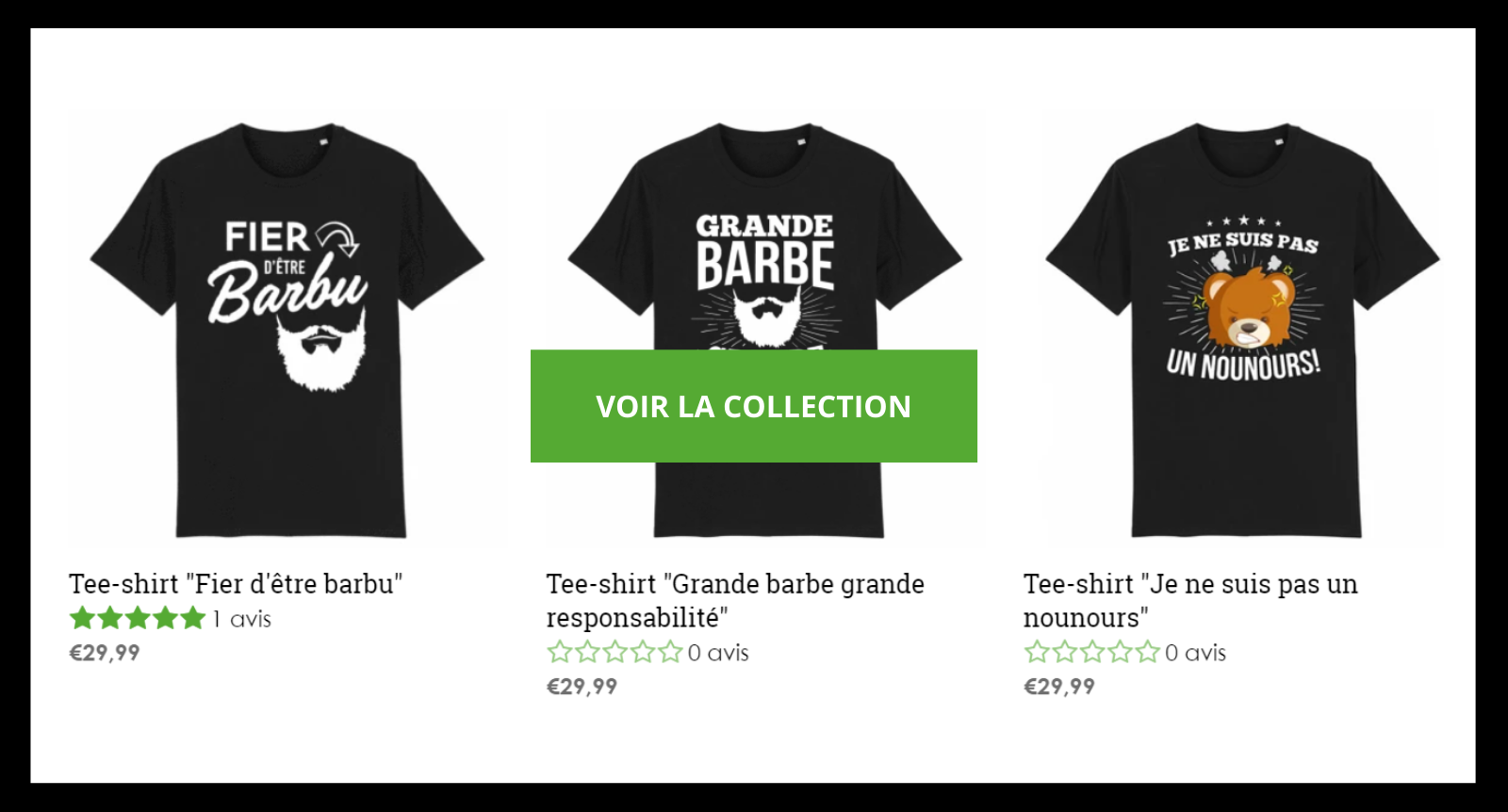 Collection T-Shirt Barbe