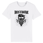 T-Shirt Barbe Rock'n'Barbe Blanc