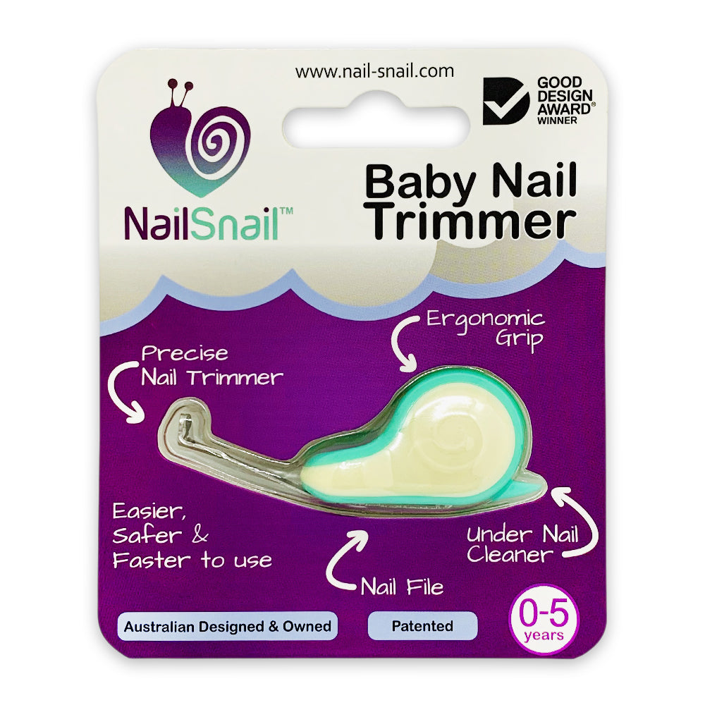 Nail Snail®- The Multi Award Winning Baby Nail Trimmer - WONDERBUBZ