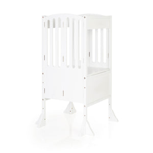 Guidecraft Kitchen Helper Contemporary White - WONDERBUBZ