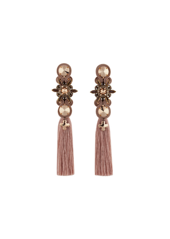 Rose Gold tassels