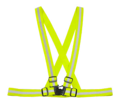Traffic Harness - Lime Green