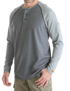 FR Baseball Henley Knit Shirt