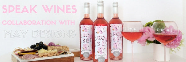 Speak Wines Collaboration with May Designs!