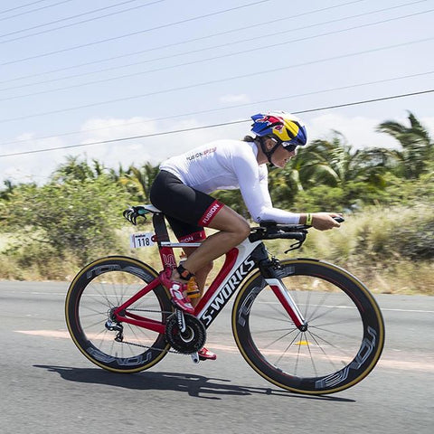 Camilla Pedersen Kona, Fusion Speed Top and Tri PWR Band Shorts