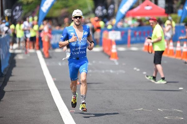 Ironman World Champion 2017 Patrick Lange_Fusion SLi Speed Suit_Sleeved Tri Suit