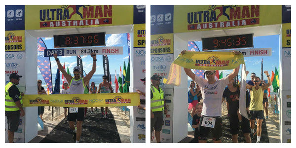 Fusion Triathlon at Ultraman Australia
