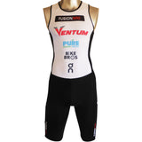 Fusion Multisport Rear Zip Triathlon Suit with Custom Printing