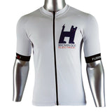 Fusion SLi Cycle Jersey White with Custom Printing