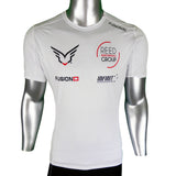 Fusion SLi T Shirt White with Custom Printing