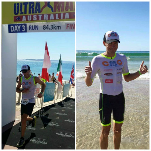 Ultraman Australia - FUSION Triathlon Speed Suit & Vent Pro Top