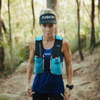 Fusion Womens C3+ Running Singlet_Colour: Night_Action