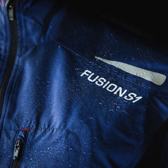 Fusion S1 Women's Shell Jacket_Running Cycling_Action