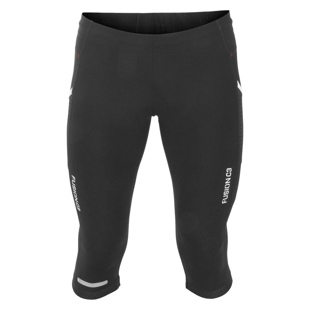 Fusion C3 3/4 Running Tights: Womens_Action