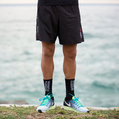 Fusion PWR Compression Socks with Merino Wool_Running_Collection: Mens_Action