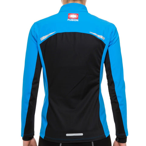 Fusion S200 Soft Shell Womens Running Jacket_Colour: Surf
