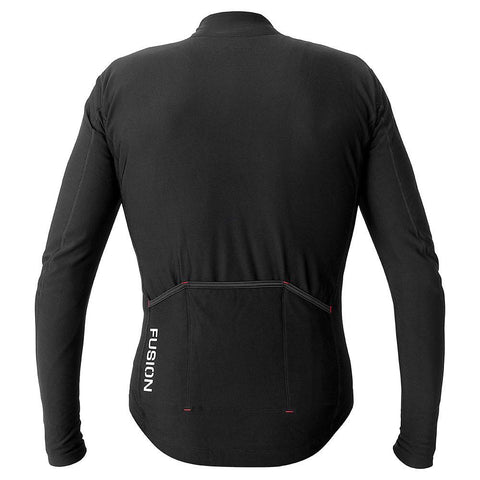 Fusion Hot LS Jersey_Winter Thermal Long Sleeve Cycling Jersey