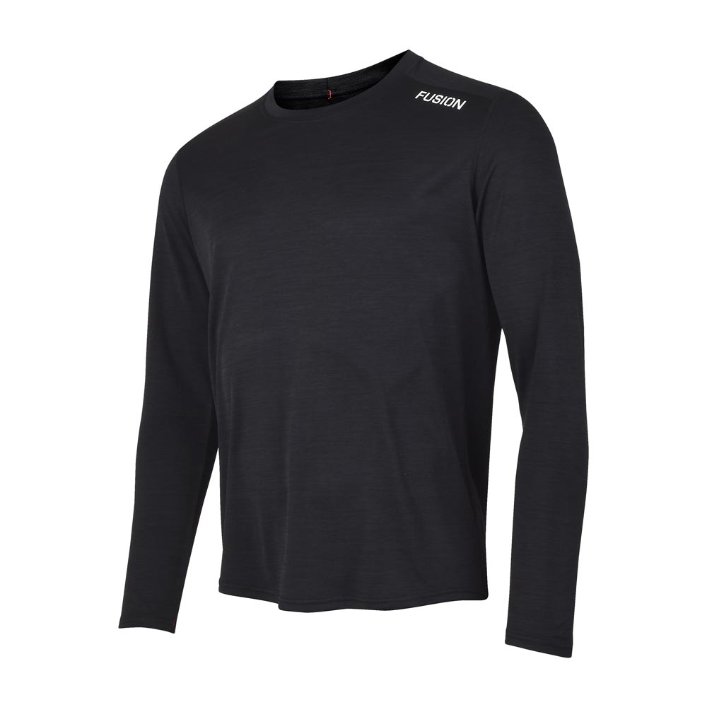 Fusion Mens C3 Training LS T-Shirt_Colour: Night